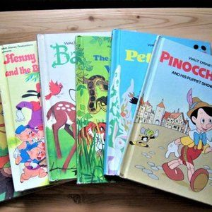 6 Walt Disney's Children's Books